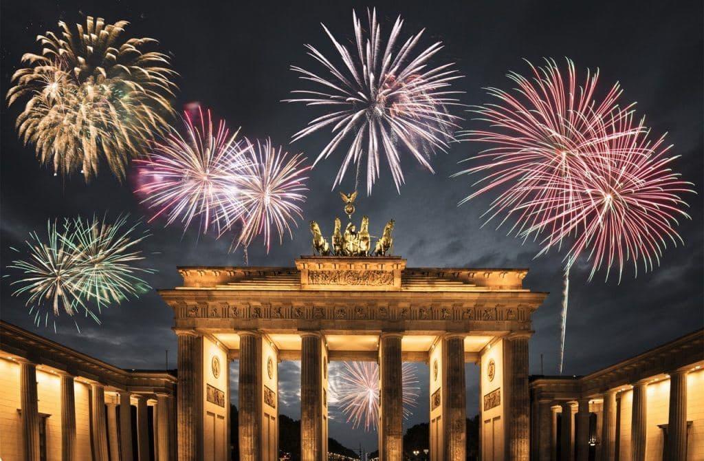 New Year 2020 Berlin Eve