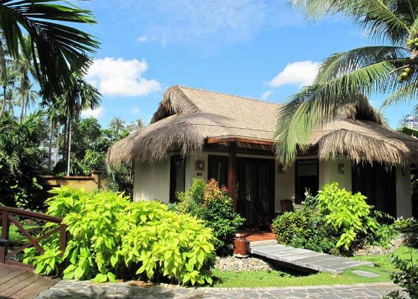 Không gian nghỉ dưỡng của resort trong lành và mát mẻ