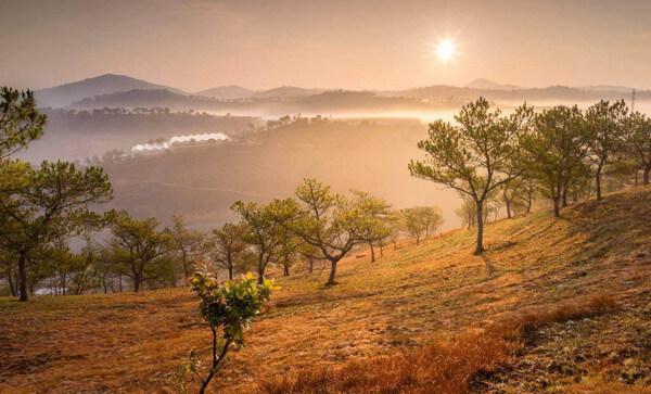 Địa điểm Du lịch đà lạt: Đồi thiên phúc đức