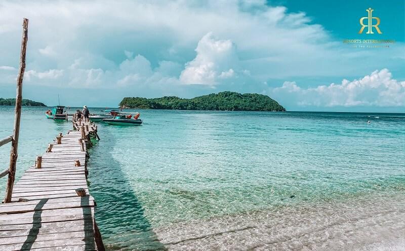 """Điểm du lịch ấn tượng tại Phú Quốc """"Hòn Mây Rút Trong"""""""