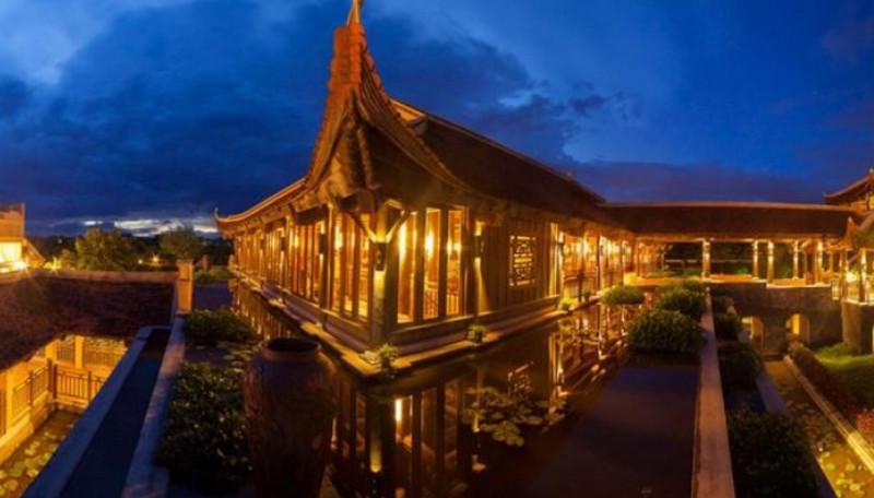 """Resort gần Hà Nội lý tưởng cho ai thích phong cách làng quê Hà Nội """"Resort Emeralda Ninh Binh"""""""
