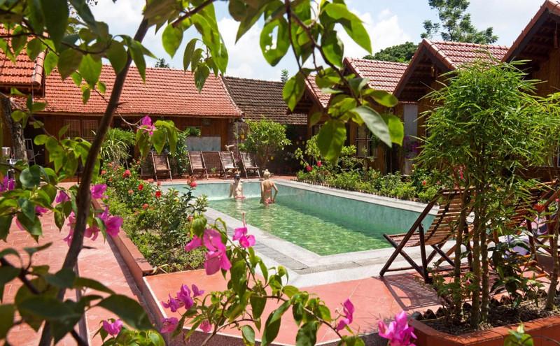 Tam Coc Garden Resort bình yên và trong lành