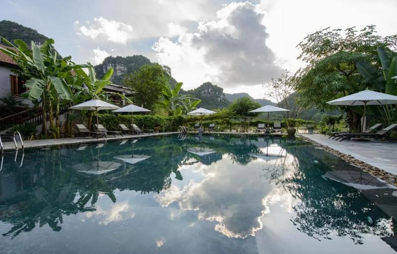 Tam Coc Garden Resort đẹp, cuốn hút khách du lịch