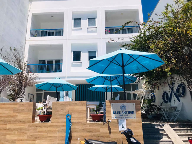 Blue Anchor - Khách sạn ở đảo Bình Ba