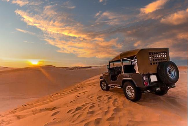 Tour Xe Jeep Xem Mặt Trời Mọc