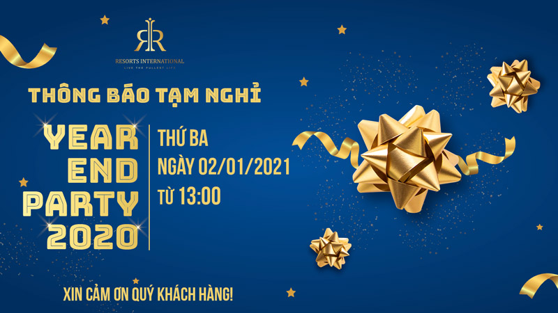 thong bao year end party rivn 2020