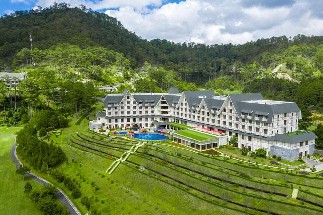 Khách sạn Swiss-Bell resort Tuyền Lâm Đà Lạt